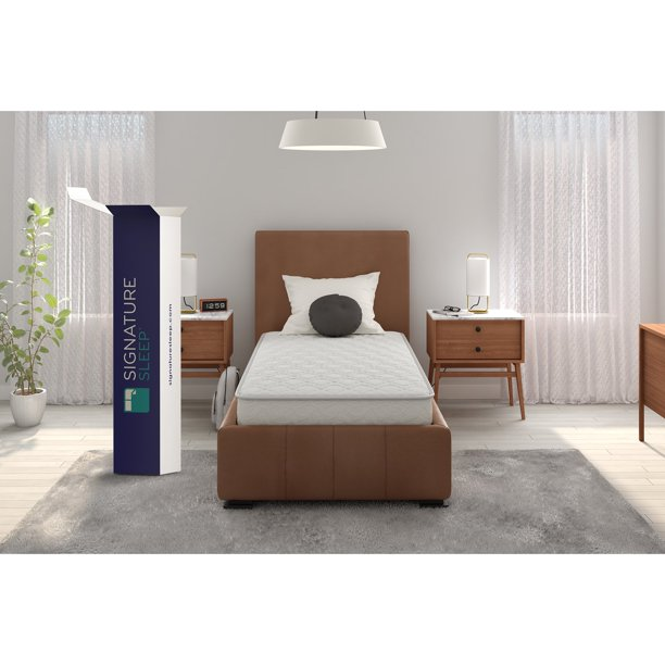 "Signature Sleep Gold Triumph 8"" Independently Encased Coil Mattress"