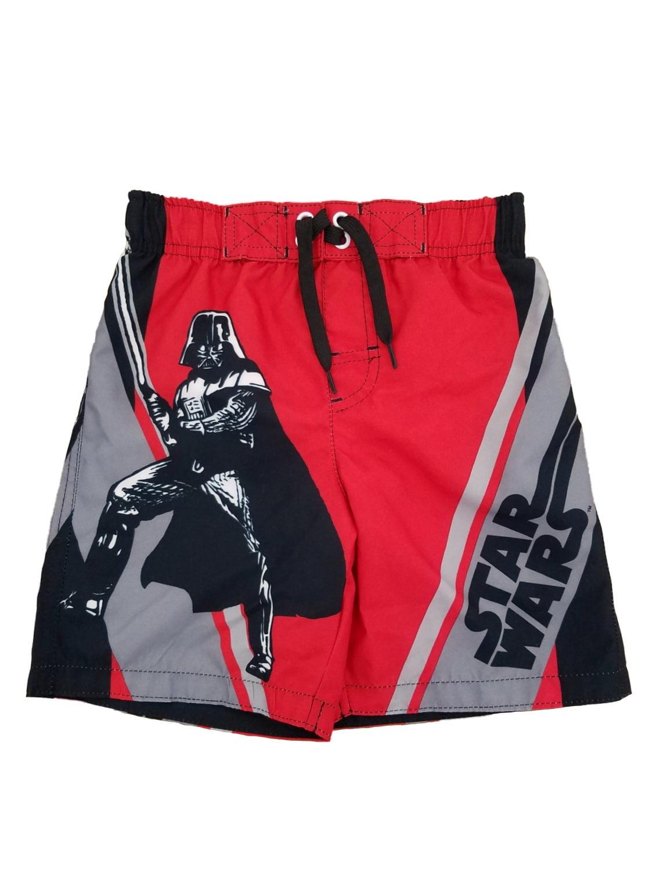 Star Wars Little Boys Darth Vader Sith Lord Swim Trunks Board Shorts