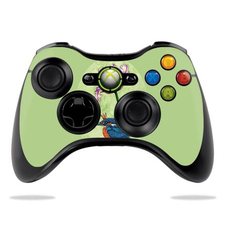 Skin For Microsoft Xbox 360 Controller - King Fisher | MightySkins Protective, Durable, and Unique Vinyl Decal wrap cover | Easy To Apply, Remove, and Change Styles ()