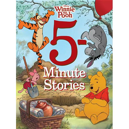 5-Minute Winnie the Pooh Stories (Hardcover) Winnie The Pooh Birth Announcements