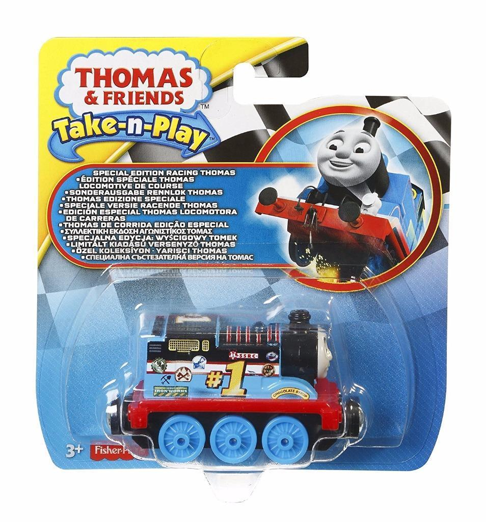Fisher-Price Thomas & Friends Take-N-Play Special Edition Racing Thomas