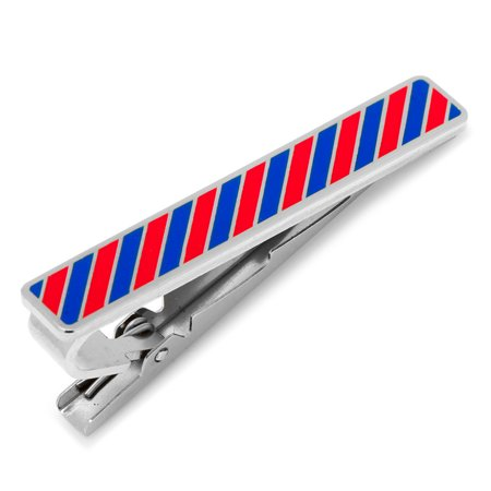 Ox and Bull Men's Varsity Stripes Fashion Tie Bar Clasp Clip