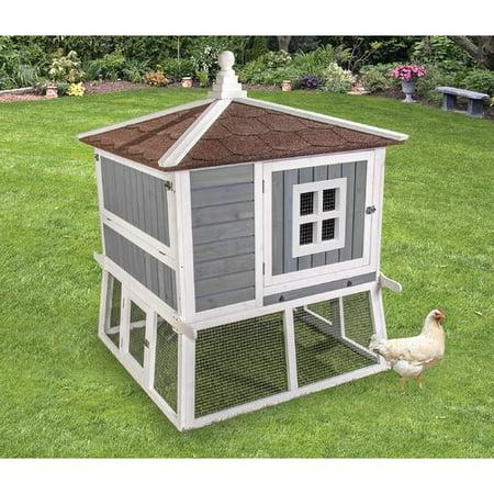 Ware Manufacturing Premium Pagoda Chicken Coop - Halloween Chicken Wire Ghost