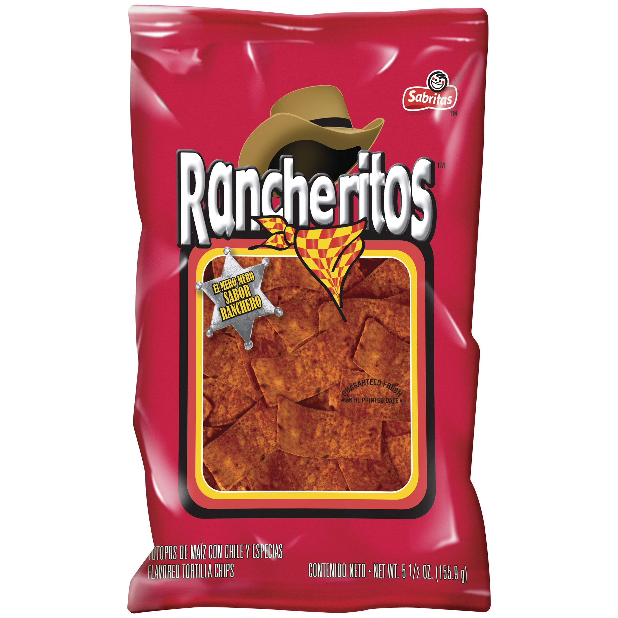 Rancheritos Chips, 7.6 oz