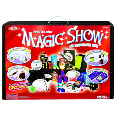 Spectacular 100 Trick Magic Suitcase (0C4769) by Ideal by