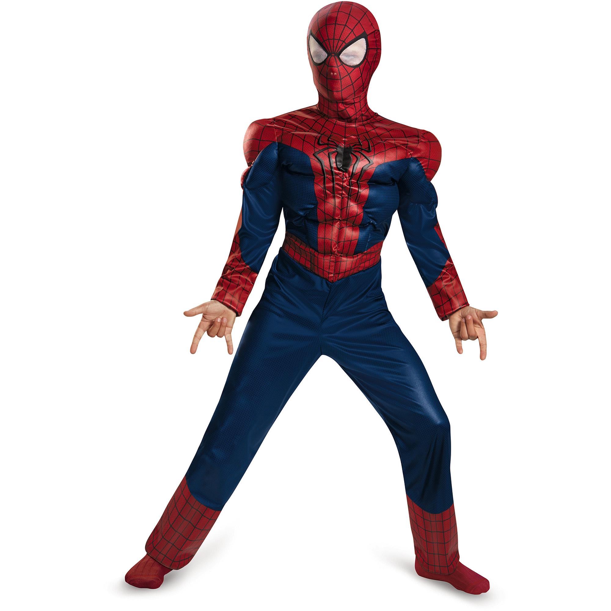 Spider-Man Muscle Child Halloween Costume
