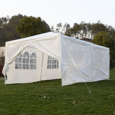 Costway 10X20canopy Pavilion Cater Events Outdoor Party Wedding Tent