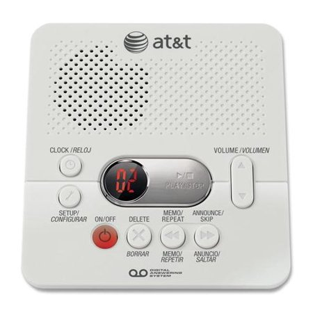 ATT1740 Digital Answering System w/ 60 min (Best Business Answering Machine Messages)