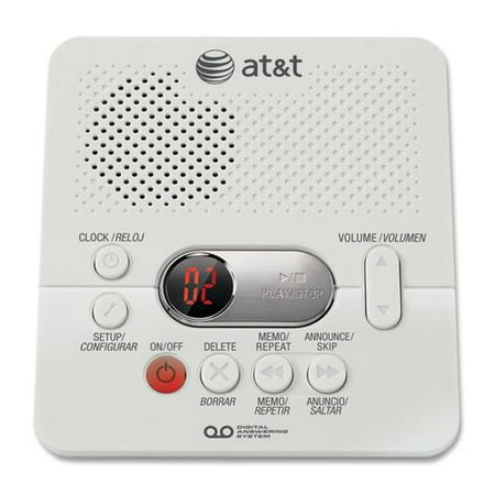 ATT1740 Digital Answering System w/ 60 min