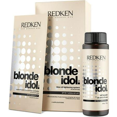 Redken Blonde Idol Blue Oil Lightening System - Option : -