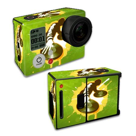 Mightyskins Protective Vinyl Skin Decal Cover For Gopro Hero3 Camera Digital Camcorder Wrap Sticker Skins Sonic Dj