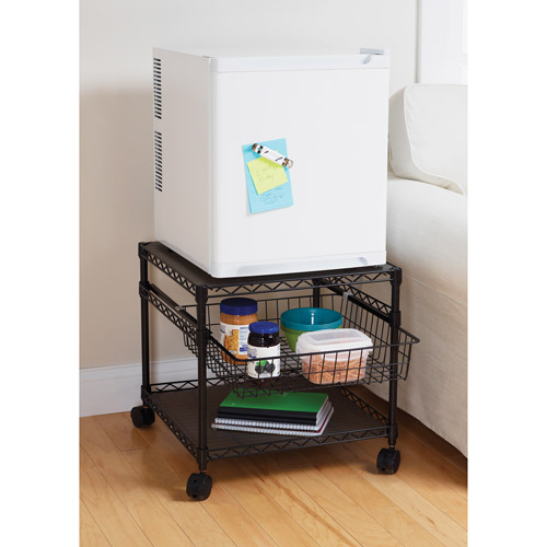 Mainstays 2 Shelf Multi Purpose Rolling Utility Cart Part 75