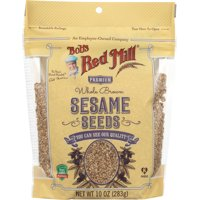 BOBS RED MILL: Whole Brown Sesame Seeds, 10 oz