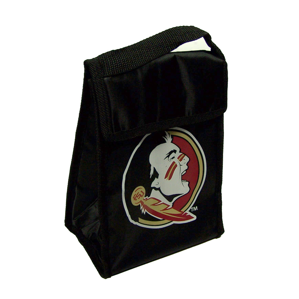 Florida State Seminoles Official NCAA 9 inch x 7 inch x 5 inch  Insulated  Velcro Lunch Box Lunchbox Bag by Forever Collectibles