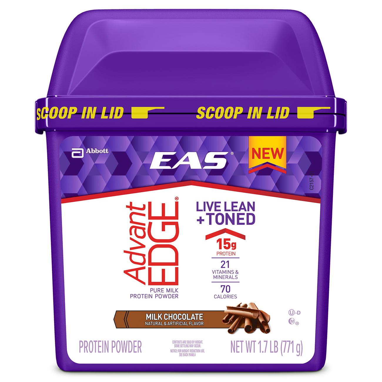 EAS AdvantEDGE Milk Protein Powder, Milk Chocolate, 1.7 lb