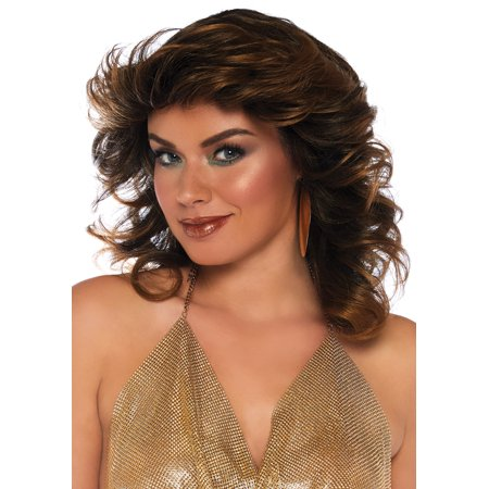 Leg Avenue Womens Farrah Feathered Wig