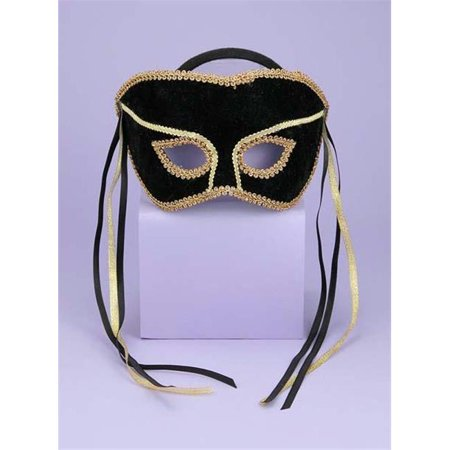 Costumes For All Occasions Fm56292 Venetian Couple Mask Swvl Bk/G - Costumes For Couple