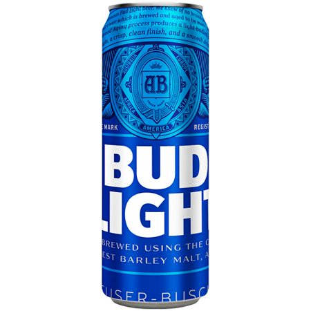 Bud Light Beer 25 Fl Oz Can Walmart Com
