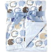 Hudson Baby Boy and Girl Plush Blanket