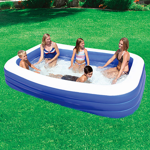 """My Sunshine 120"""" x 72"""" x 22"""" Deluxe Family Inflatable Swimming Pool"""