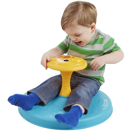 Playskool Giraffalaff Sit N Spin Toy Best Baby Learning