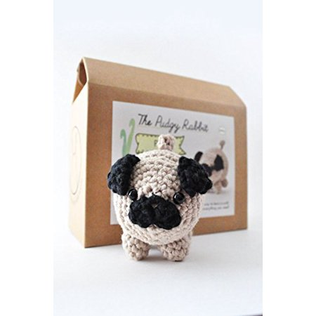 Diy Beginner Crochet Kit Pug Walmartcom