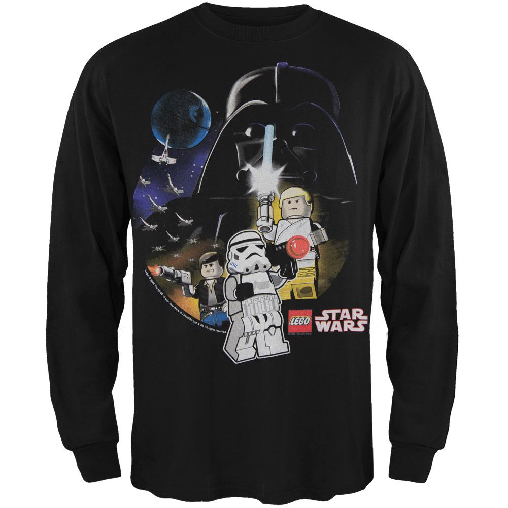 Lego Star Wars Vader Scene Black Youth Long Sleeve T-Shirt