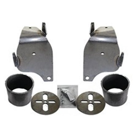 AirBagIt BRACKETGM6570F1 Bag Brackets Only Front GM car Raw - image 1 of 1