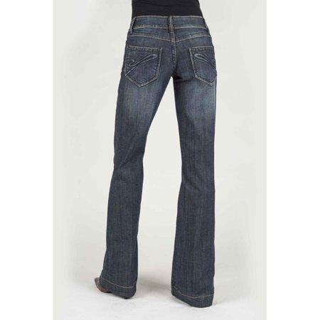 Stetson 0214 Trouser Style Western Jean Blue