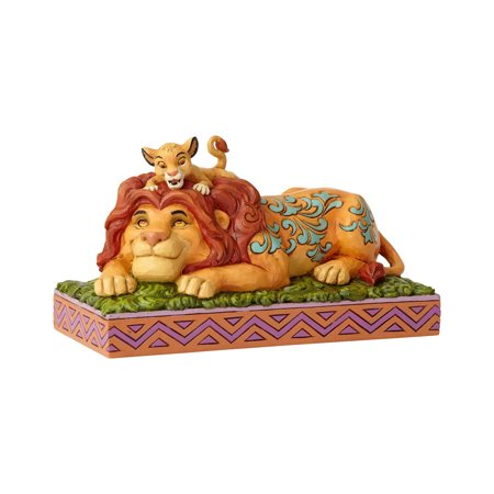 Jim Shore Disney 6000972 Simba & Mufasa the Lion King Figurine 2018 (Disney Lion King Figurines)