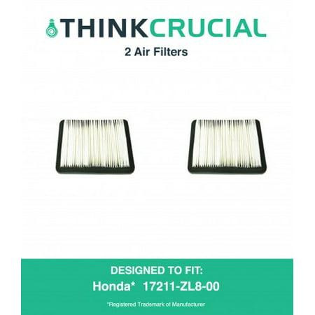 2 Honda 17211 Zl8 023  17211 Zl8 000 17211 Zl8 003  Stens 102 713  Napa 7 08383 Air Filter