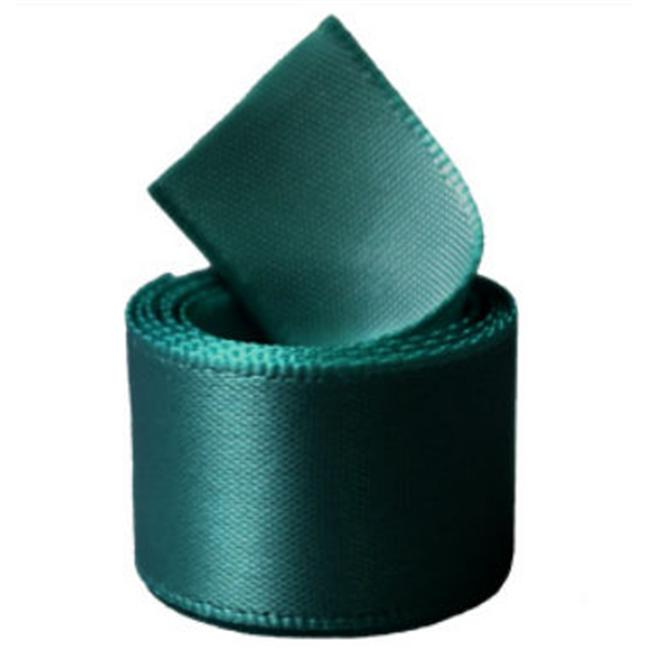 Papilion R07430538001250YD 1.5 in. Single-Face Satin Ribbon 50 Yards - Silver