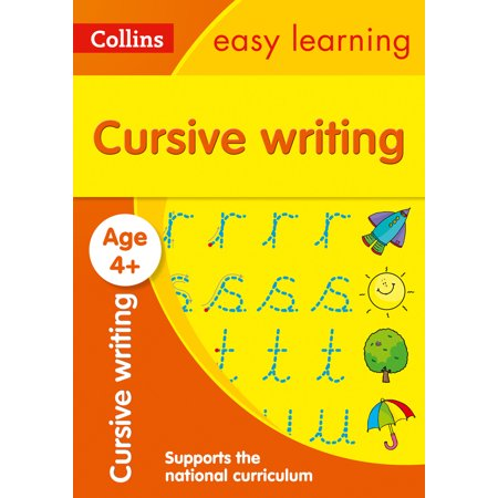 Collins Easy Learning Preschool – Cursive Writing Ages 4-5