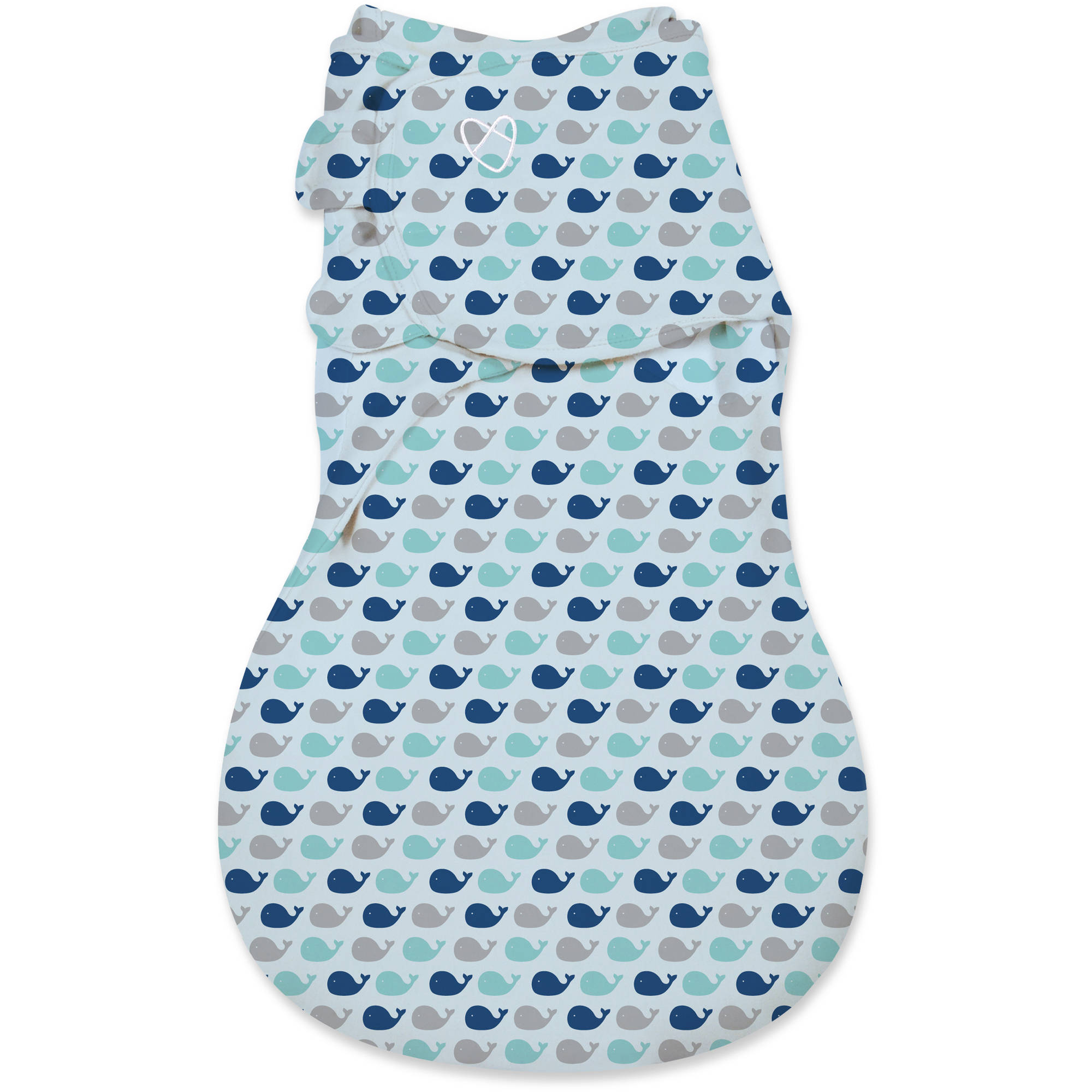 SwaddleMe WrapSack, 1-Pack, Oh Whale, Small