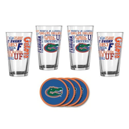 UF Gators Spirit Glassware Gift Set