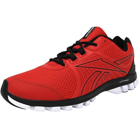 Reebok Men's Super Duo Speed Red / Black White Ankle-High Running Shoe -  11.5