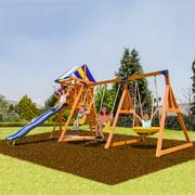 Sportspower Willow Creek Wooden Swing Set