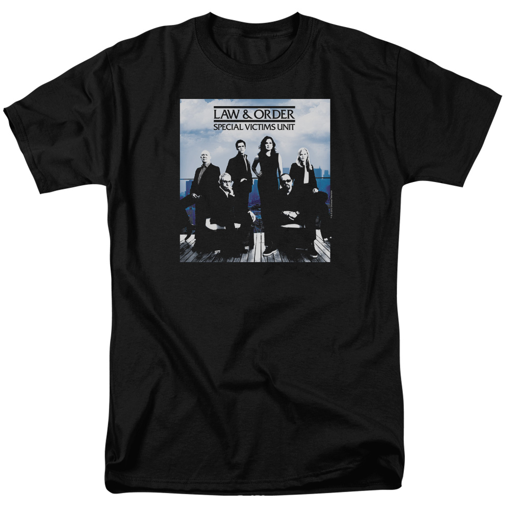 Law & Order SVU Crew 13 Mens Short Sleeve Shirt