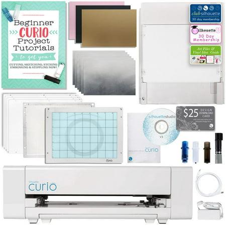 Silhouette Curio Digital Crafting Machine Metal Etching & Stippling Bundle ()