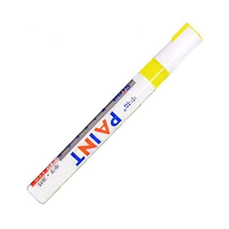 12 Colors Waterproof Pen Car Tyre Tire Tread Rubber Metal Permanent Paint Markers Graffiti Oily Marker Pen