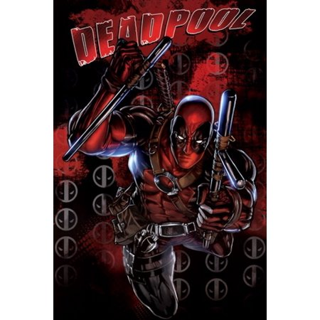 Deadpool - Black Poster Print - Deadpool Posters