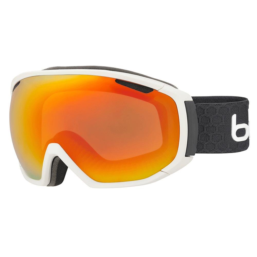 Bolle Winter Tsar Matte White & Grey Sunrise 21646 Ski Goggles M L AF Lens by Bolle