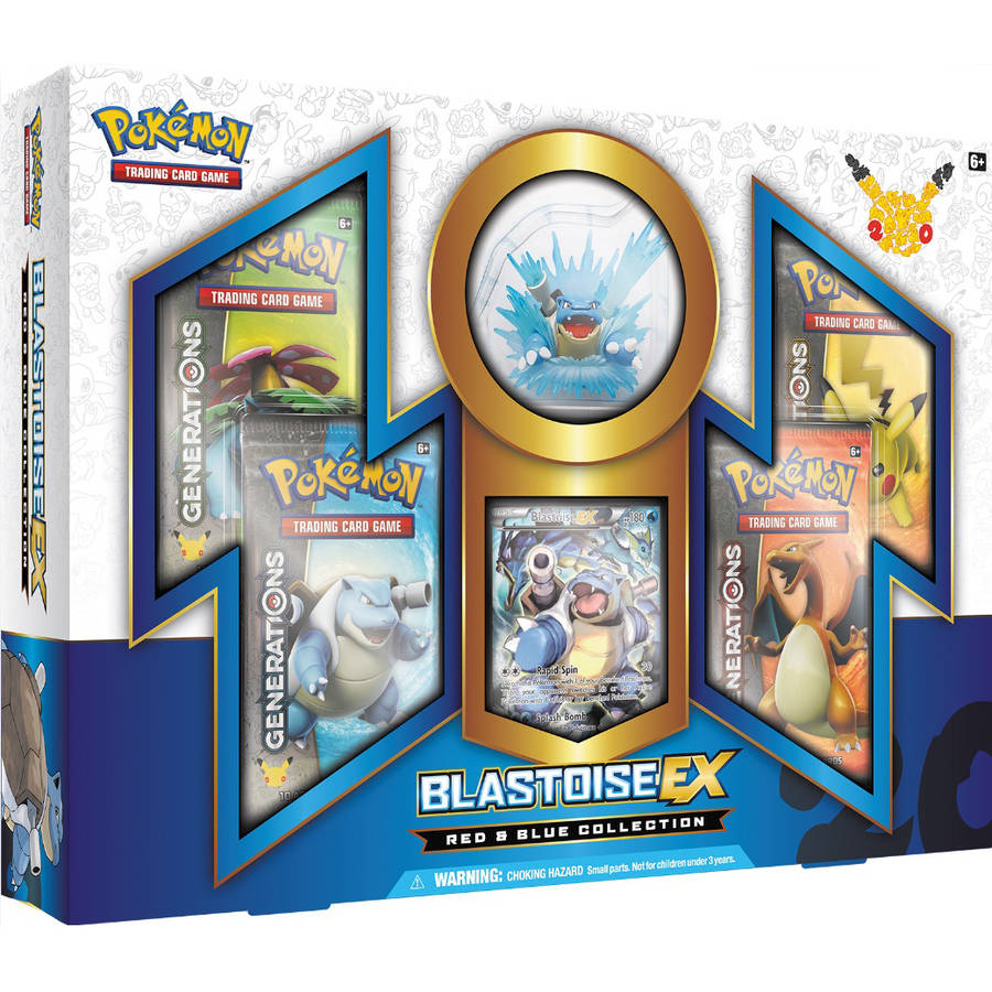 Pokemon 20th Anniversary Blastoise Box