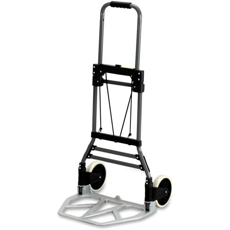 Safco, SAF4062, Stow-Away Medium Hand Truck, 1 Each, Silver