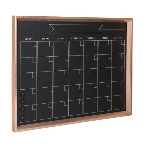DesignOvation Calter Magnetic Wall Mounted Calendar Board