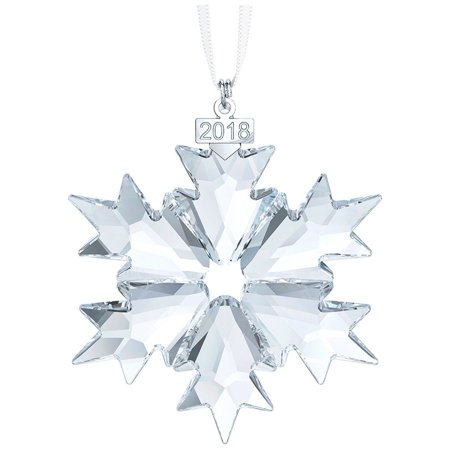 Swarovski Annual Edition Ornament 2018 - - Clear Fillable Christmas Ornaments