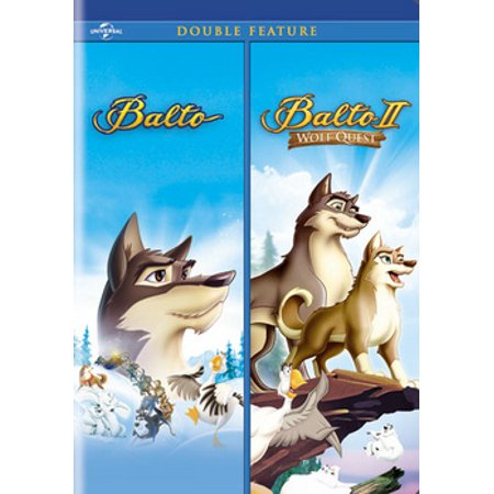 BALTO/BALTO II-WOLF QUEST (DVD/2DISCS/DOUBLE FEATURES)-NLA (DVD) (Free Wolf Quest)