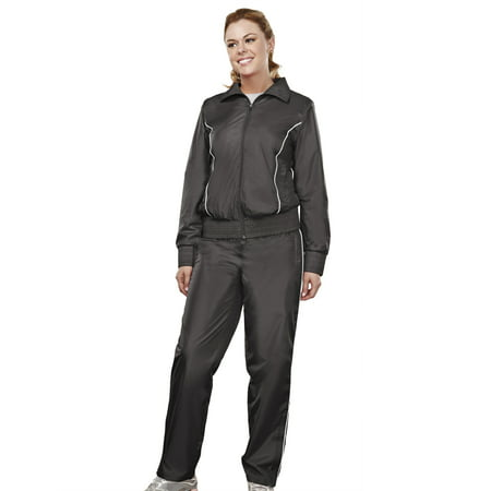 Tri-Mountain Lady Charger 2346 Poly Micro Wind Jacket, 2X-Large, Black