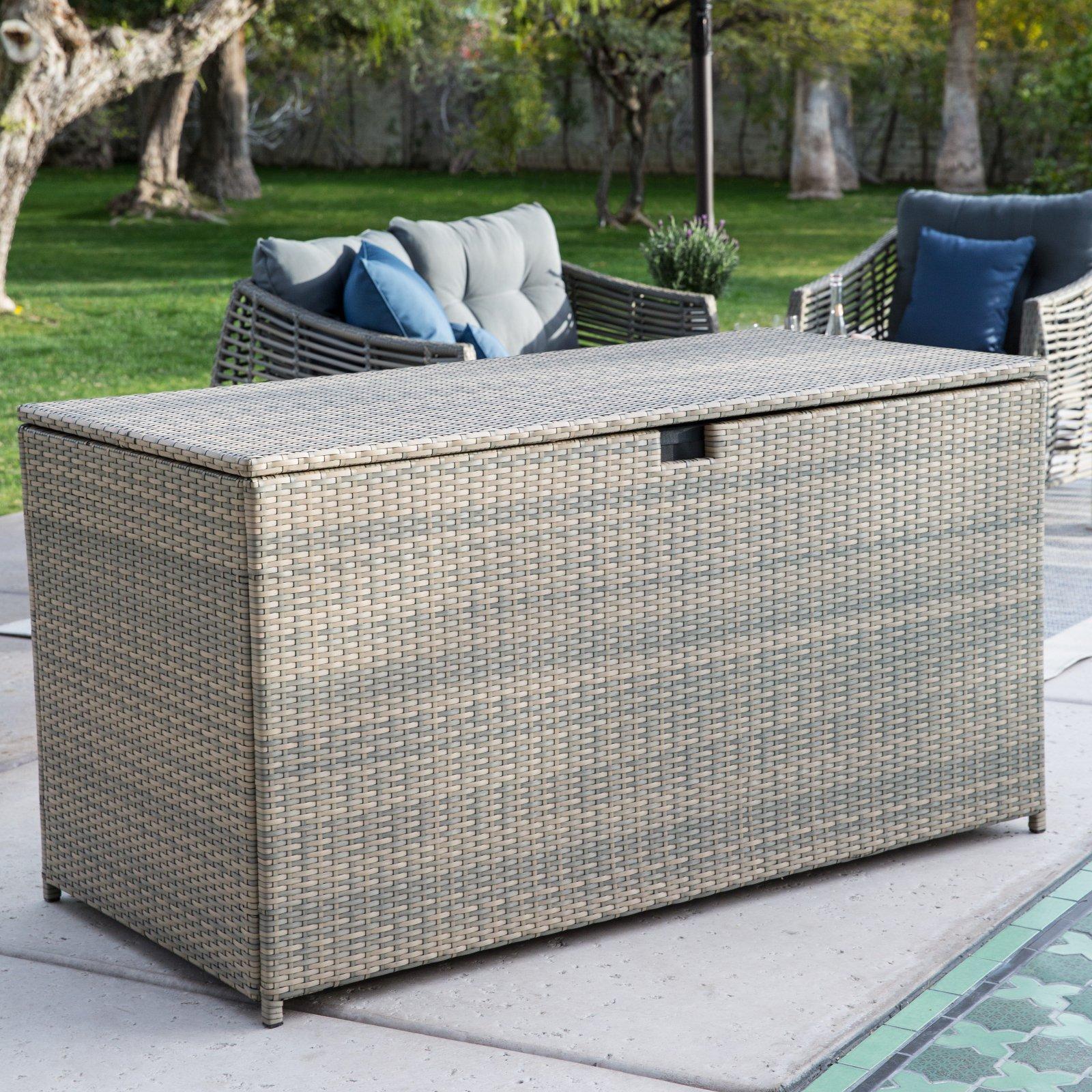 Belham Living Kambree All-Weather Wicker 190-Gallon Deck Box