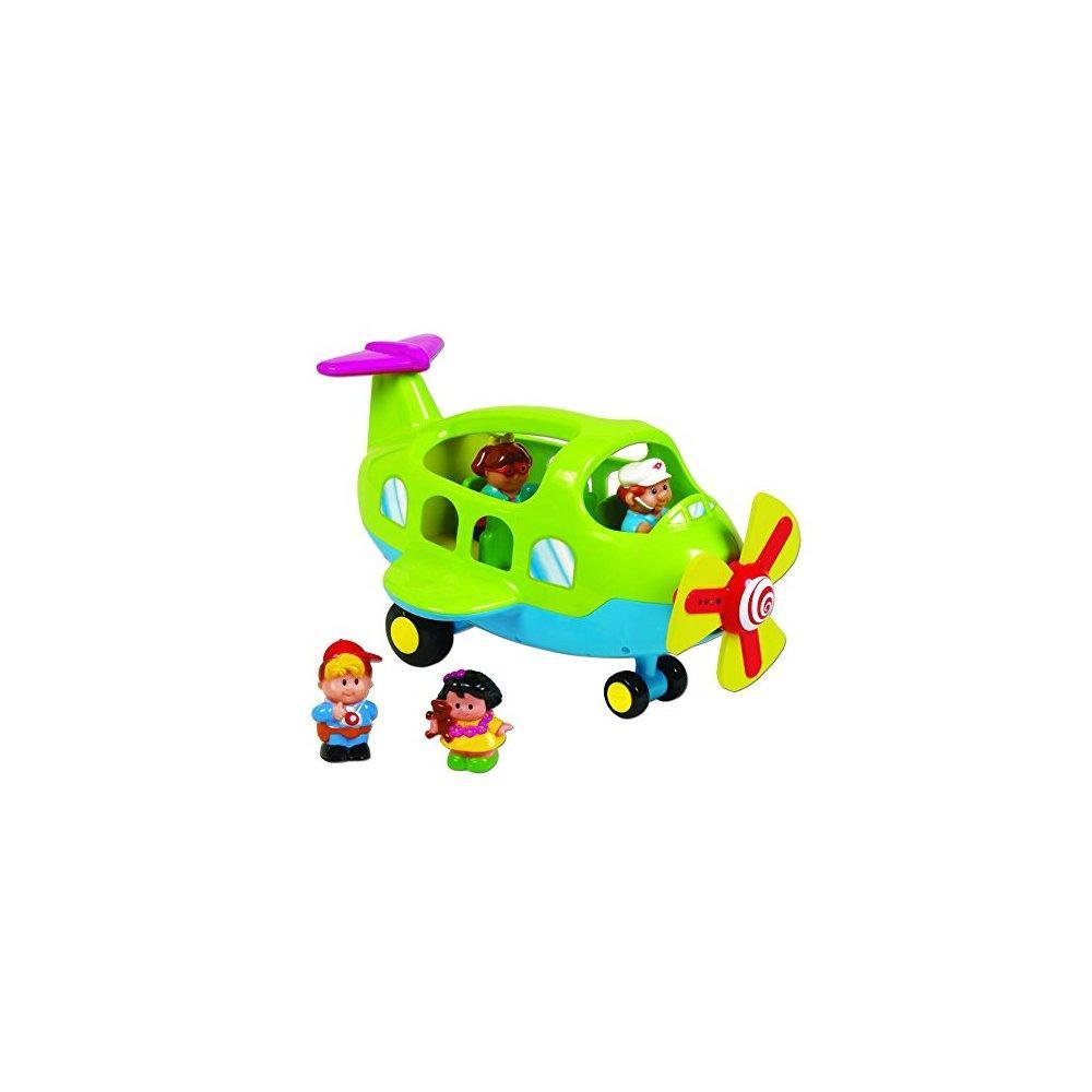Small World Toys Preschool Activity Plane B O by